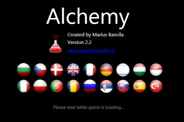 free online full screen alchemy game