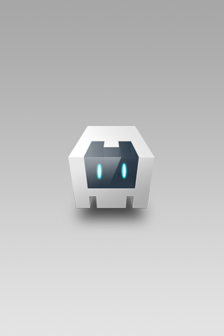 Default Cordova splash screen image for iPhone.