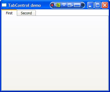 Wpf tab control for Wpf tabcontrol template