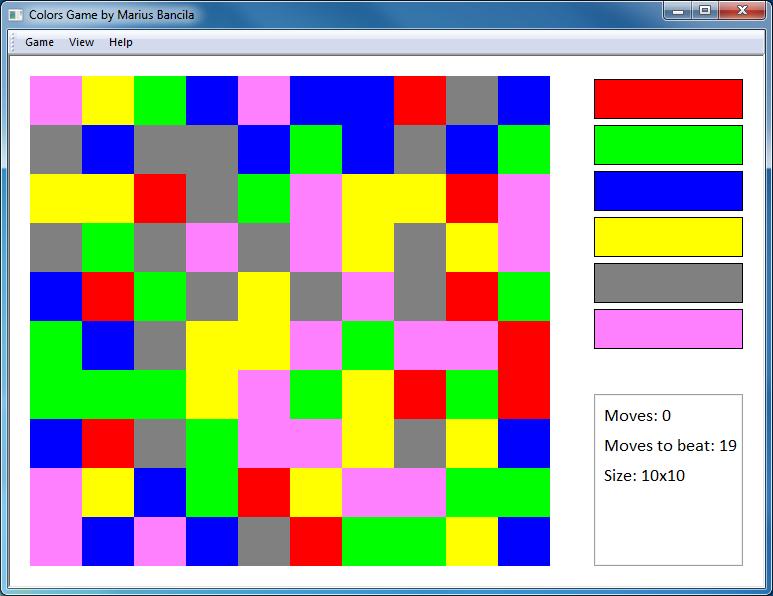 Colors GameMarius Bancila\'s Blog