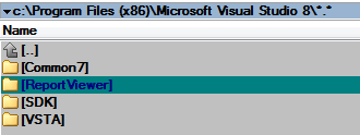 Why won't my redistributable assemblies show up in Visual Studio's
