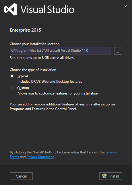 vs2015installertypical1