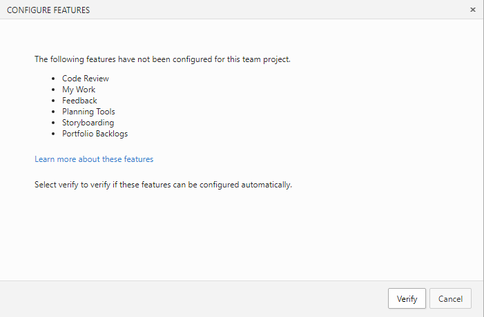 Update a TFS team project manually to support code reviews